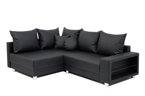 b famous polsterecke colorado led federkern schenkelma 225 x 167 cm led beleuchtung. Black Bedroom Furniture Sets. Home Design Ideas