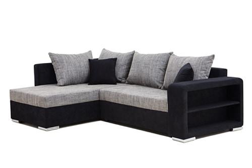 b famous polstereckehouston 2 pur schenkelma 226 x 160 cm materialmix mikrovelours struktur. Black Bedroom Furniture Sets. Home Design Ideas
