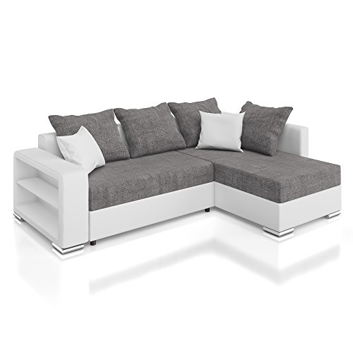 vicco sofa couch polsterecke houston ecksofa. Black Bedroom Furniture Sets. Home Design Ideas