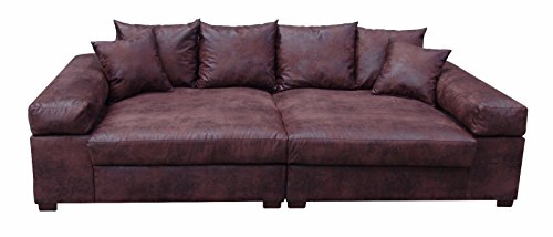 big sofa couch garnitur xxl megasofa riesensofa wohnlandschaft ultrasofa braun wohnlandschaft. Black Bedroom Furniture Sets. Home Design Ideas