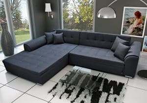 Ecksofa Sorrento Eckcouch Sofa Couch mit Bettfunktion