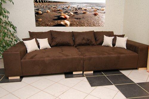 Big Sofa - Made in Germany - Bezug Noble Lux - Freie Farbwahl ohne Aufpreis aus ca. 70 Farben - Nahezu jedes Sondermaß möglich! Sprechen Sie uns an.