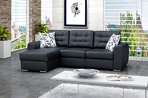 ecksofa baciatto eckcouch lounge sofa couch mit bettfunktion schlafsofa 3 sitzer couch. Black Bedroom Furniture Sets. Home Design Ideas