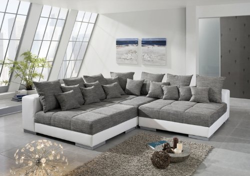 ecksofa titanic sofaecke eckgarnitur sofa garnitur big sofa couch wohnlandschaft. Black Bedroom Furniture Sets. Home Design Ideas