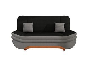 Sofa Weronika Lux mit Bettkasten und Schlaffunktion, Schlafsofa, Große Farb- und Materialauswahl, Couch vom Hersteller, Wohnlandschaft (Alcala 22 + Alcala 14)